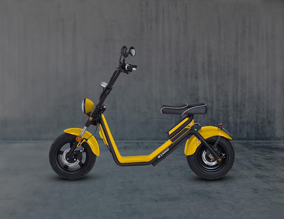 E-chopper Black Edition – Cat Yellow