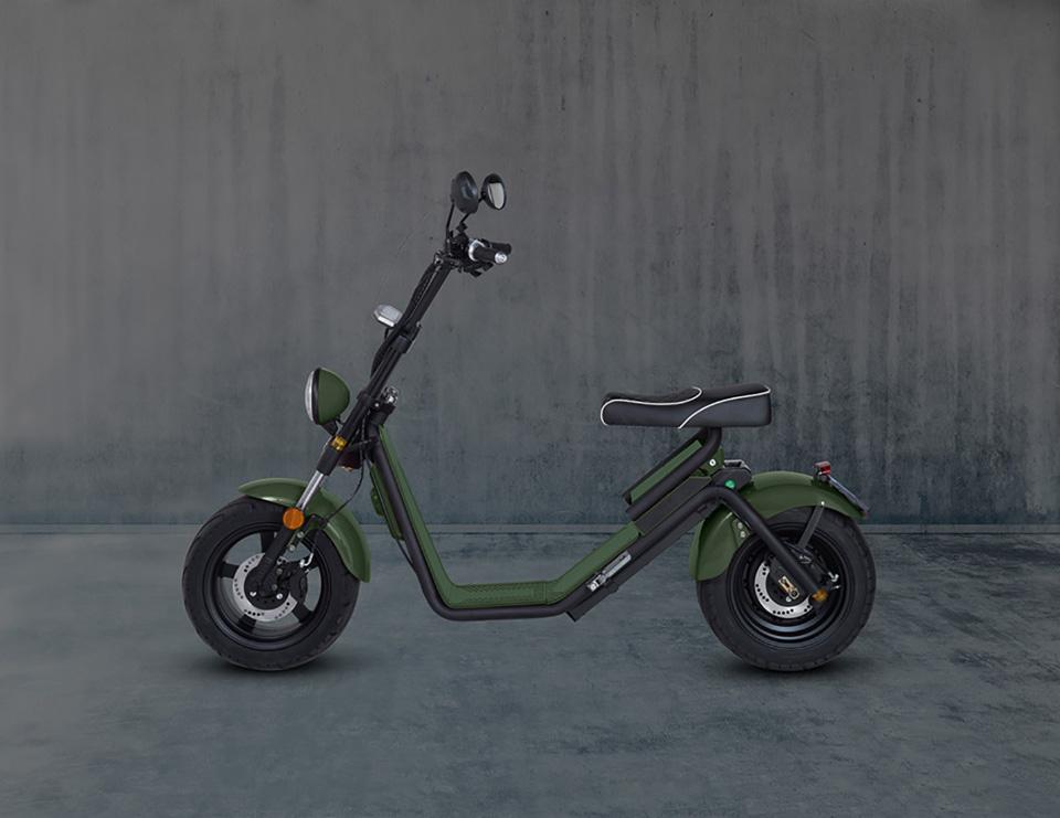 E-chopper Black Edition – Army Green