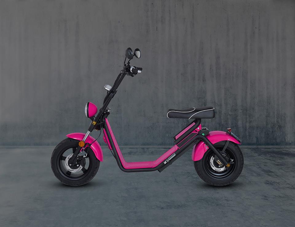 E-chopper Black Edition – Hot Pink